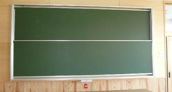 上下式黒板